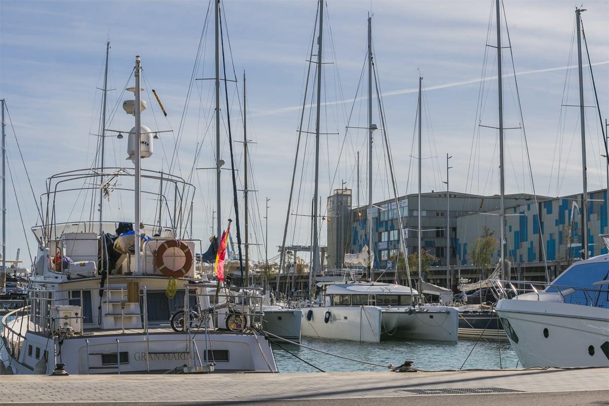 Alquilar amarra en Marina Vela Barcelona