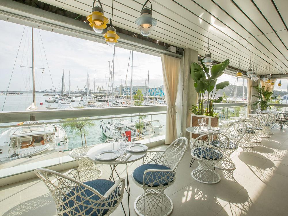 Restaurantes en Marina Vela